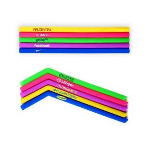 "Straight Baby Reusable Silicone Straws 5.31""x 0.39""x0.33"""